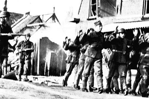 gevangen Nederlandse soldaten