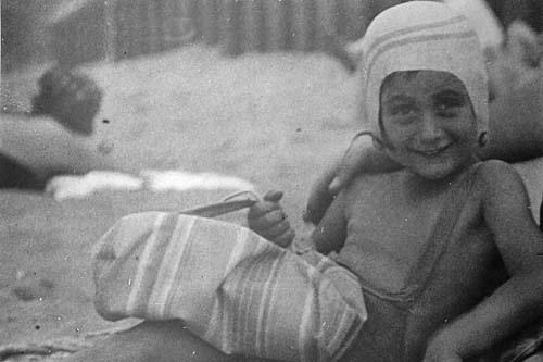 Anne Frank in Zandvoort 1934