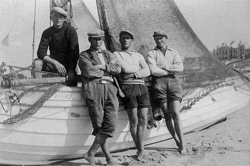 Jaap Harteveld met zijn boot